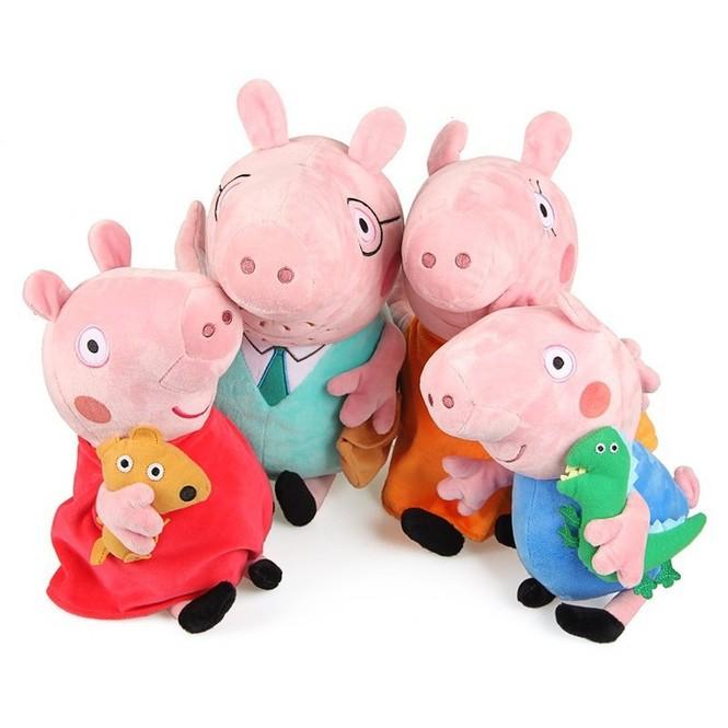 Свинка пеппа игрушки мама и папа